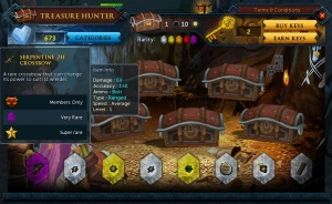 Treasure Hunter Keys